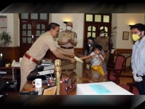 Three Year Old Mumbai Boy Donates Rs 50k To Mumbai Police To Fight Against Coronavirus