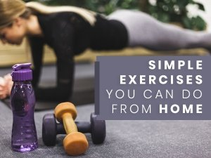Tips To Help You Stay Fit At Home