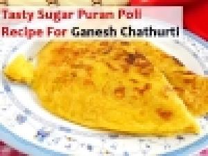 Sugar Puran Poli Recipe How To Prepare Puran Poli For Ganesh Chaturthi