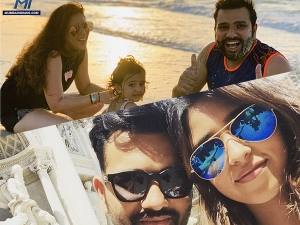 Rohit Sharma And Ritika Sajdeh S Love Story In Telugu When Best Friends Become Soulmates