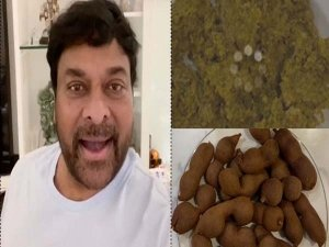 Megastar Chiru Make A Fish Curry For His Mother