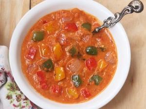 Capsicum Gravy Recipe In Telugu