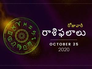 Daily Horoscope October 25 2020