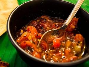 Tomato Thokku Recipe In Telugu