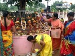 Why Milk Is Poured In Pamulaputta On The Day Of Nagulachavithi In Telugu