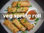 Veg Spring Roll Recipe