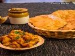 Poori Bhaji Recipe In Telugu