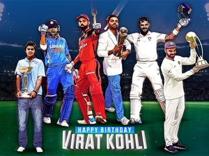 Happy Birthday Virat Trends On Twitter As Fans Wish The Indian Skipper On His 32nd Birthday