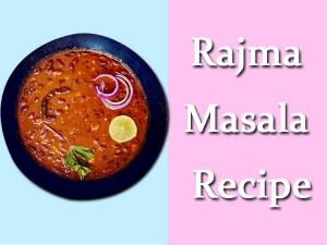 Rajma Masala Recipe In Telugu