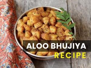 Aloo Bhujiya Recipe In Telugu