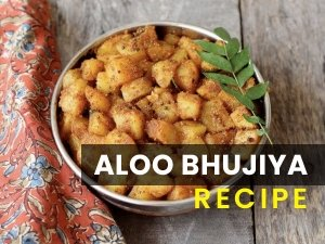 Aloo Bhujiya Recipe In Telugu