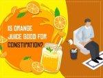 Orange Juice For Constipation