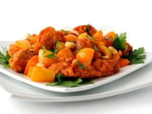 Pineapple Pork Sweet And Sour Recipe In Telugu