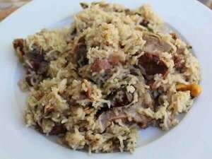 Mutton Ghee Rice Recipe In Telugu