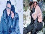 Kajal Gives A Hug To Her Husband Everyday Benefits Of Hugging
