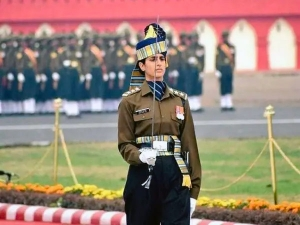 Meet Captian Tania Shergil The 1st Woman Republic Day Parade Adjutant