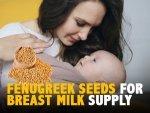 Does Fenugreek Seeds Help With Breast Milk Supply