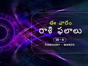Weekly Rashi Phalalu For February 28 To March