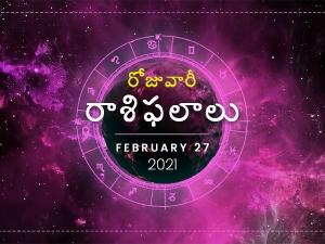 Daily Horoscope February 27 2021