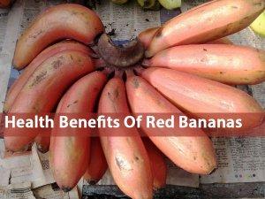 Health Benefits Of Red Bananas In Telugu