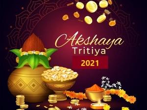 Akshaya Tritiya 2021 Date Shubh Muhurat Significance And Rituals In Telugu