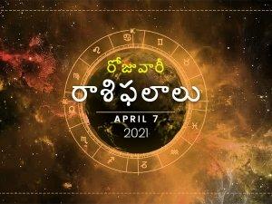 Daily Horoscope April 07 2021