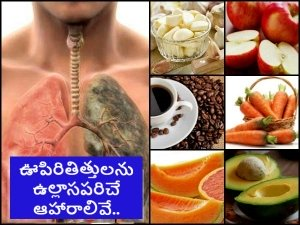 Best And Worst Foods For Lung Health In Telugu