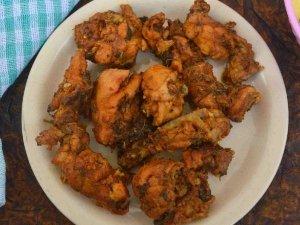 Coriander Chicken Roast Recipe In Telugu
