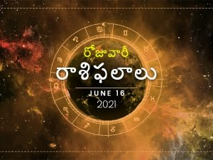 Daily Horoscope June 16 2021