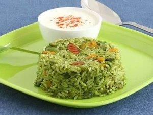 Palak Pulao Recipe In Telugu