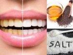 How Mustard Oil And Salt Help Keep Your Teeth Clean