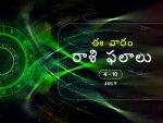 Weekly Rasi Phalalu For To July 4 To July