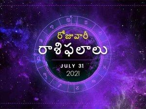Today Rasi Phalalu 31 July 2021 Daily Horoscope In Telugu Today Horoscope In Telugu