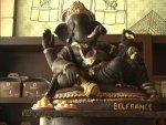 Ganesh Chaturthi Special Ganesh Idol Made Of Dark Chocolates