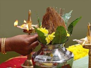 Shardiya Navratri 2021 Date Significance Ghatasthapana Or Kalash Sthapana Shubh Muhurat Puja Vidhi