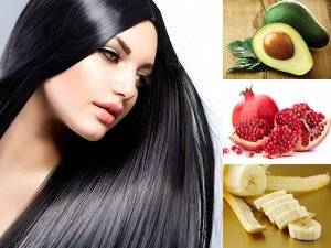 Best Fruits For Healthy Hair Growth In Telugu